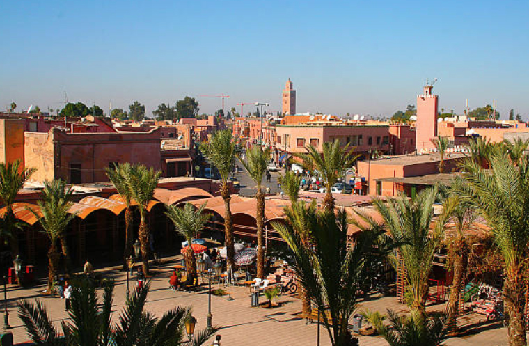 Marrakech stijl